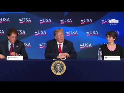 President Trump Attends a Roundtable Discussion on Tax Reform