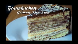 Baumkuchen (German Tree Cake) | Indulging Food