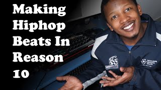 Making Hiphop on Reason 10 with Akai MPD232