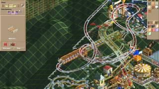 Rollercoaster Tycoon Corkscrew Follies #119 (Butterfly Dam: Buried wood)