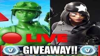 🔴 *NEW* FORTNITE SHADOWS RISING & TOY TROOPER! 10K VBUCKS GIVEAWAY TO NEW SUBSCRIBERS!