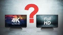 Was ergibt mehr Sinn: FullHD oder 4K?