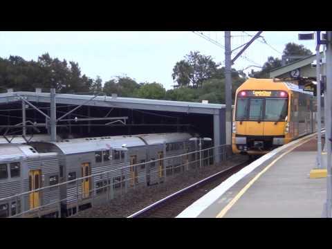 Trains Spotting at Macdonaldtown Railway Station