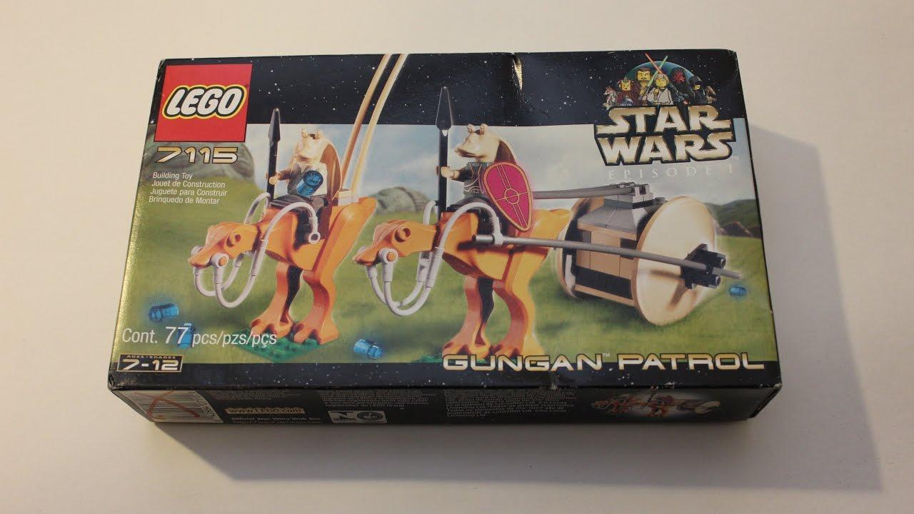 Lego Patrol 7115 2000 Gungan Wars Year Star Youtube Review Rj34q5LA