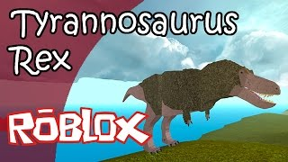TYRANNOSAURUS REX Simulador de Dinosaurios (Roblox) Juego Español