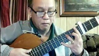 Phận Tơ Tằm (Hồ Tịnh Tâm) - Guitar Cover