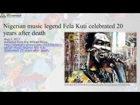 Nigerian music legend Fela Kuti celebrated 20 years after death