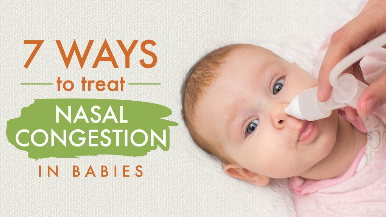 Stuffy/Blocked Nose in Infants: Reasons, Symptoms & Home Remedies