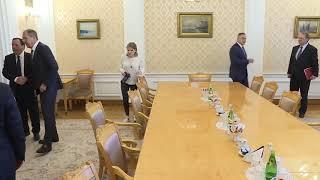 С.В.Лавров и Х.Жинауи