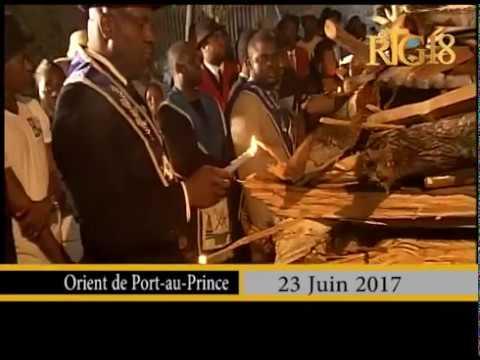 Haïti.- Procession de Saint Jean / 23 Juin 2017