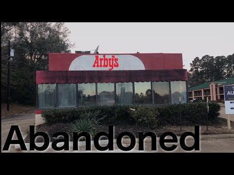 Abandoned Arby's Nacogdoches, TX