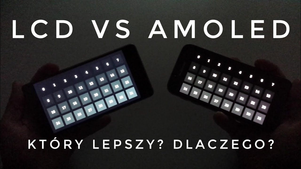 LCD vs AMOLED Screen Test | ForumWiedzy.pl Bogdan Ligęza