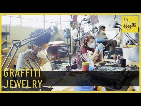 making-jewelry-from-detroit-graffiti-//-60-second-docs