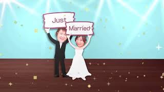 披露宴オープニング映像サンプル 「Wedding Dance Party」