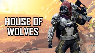 What Destiny Got Right? - House of Wolves Gameplay Black Shield Control