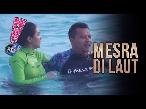 Nyebur di Tengah Laut, Anang & Ashanty Mesra Diterpa Ombak - Cumicam 13 November 2017