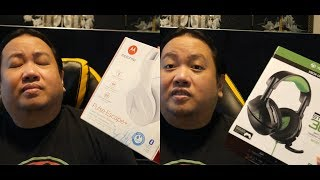 Dual Unboxing First Impressions on the Motorola Pulse Escape + and Turtle Beach Stealth 300