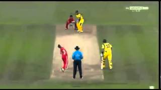 Aaron Finch 156 of 63(2nd fastest T20I century)