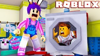 HERE IT SMELLS OF CALCETÍN - ROBLOX - ESCAPE THE LAUNDROMAT