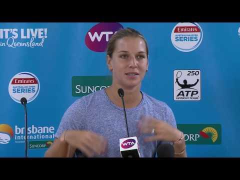 Dominika Cibulkova press conference | Brisbane International 2017