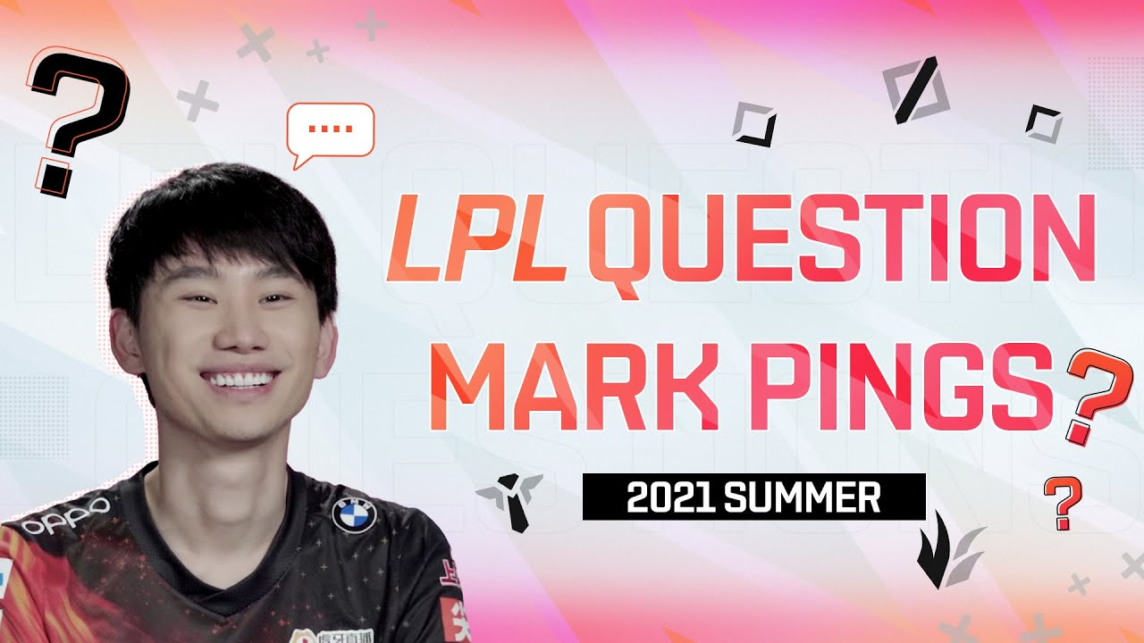 LPL Question Mark Pings | Episode 1 | What's your daily schedule like as a pro player?