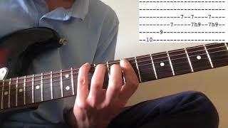 Whitney - No Woman guitar lesson