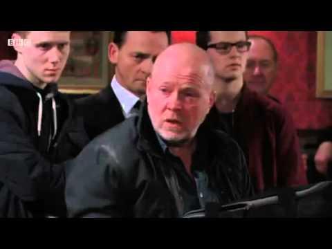EastEnders - Phil Mitchell Vs. Lee Carter & Phil Hits Kathy Sullivan (18th January 2016)