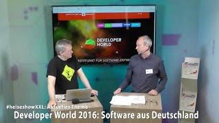 """#heiseshowXXL: Software aus Deutschland / die """"beste"""" Programmiersprache"""