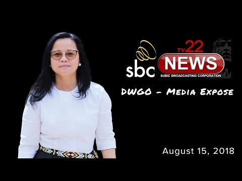 DWGO Media Expose (Subic Broadcasting Corporation) interview with SBMA Chief on August 15, 2018