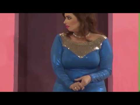 AMAZING FIGURE OUT SHEZA VERY HOT LOOKING WITH BLUE DRESS PUNJABI STAGE DRAMA TRAILER NEW 2016