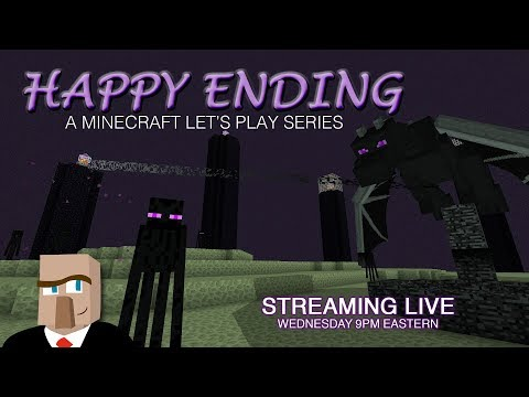 Minecraft HAPPY ENDING #66 Live Stream -- More Dolphin Polishing!