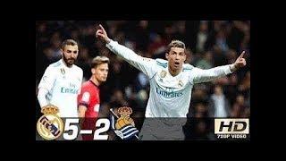 Real Madrid 5-2 Real Sociedad | Goles | COPE | Liga 2017/2018
