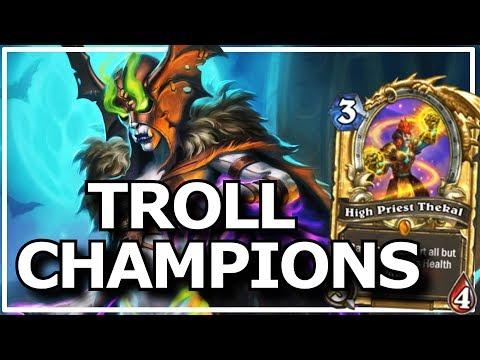 Hearthstone - Best of Legendary Troll Champions