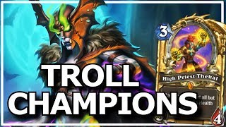 Hearthstone - Best of Legendary Troll Champions