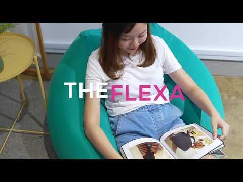 Flexa Spandex Cube Bean Bag