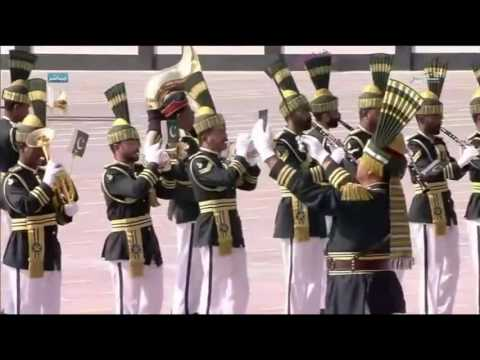 Pakistan Navy Band in Ahmed Bin Mohamed Military College, Qatar on 26th January, 2017