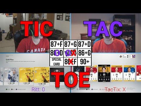 NHL 17 TIC TAC TOE!! (w/ TacTixHD)