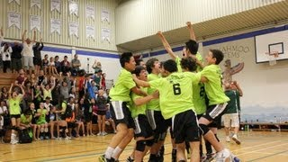 2012 BC Summer Games - Volleyball Gold Medal Celebration