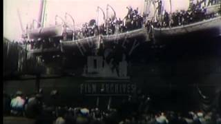 American Soldiers in World War One, 1910's -- Film 34757