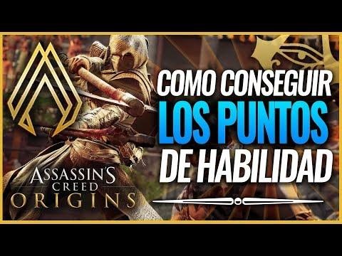 Assassin's Creed Origins | La mejor forma de Conseguir PUNTOS de HABILIDAD