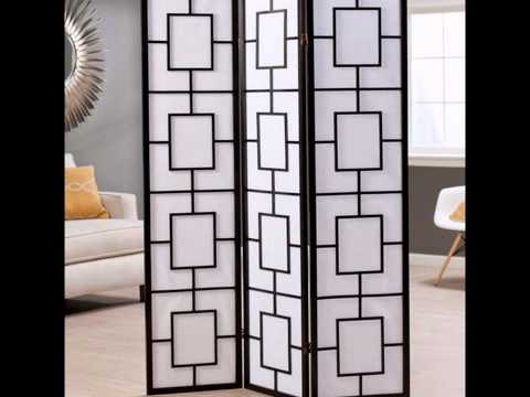 Folding Screen Room Dividers by laurenscape.com