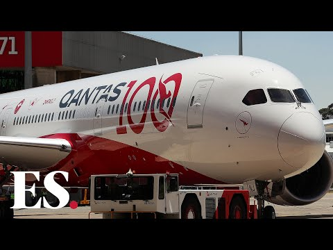 Qantas Dreamliner Lands After World's Longest Non-stop Flight, 19hrs From London To Sydney