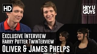 Oliver Phelps and James Phelps Twinterview (Interview)
