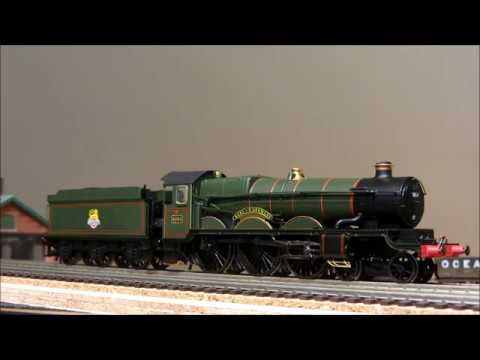 Hornby GWR Castle No.5050 'Earl of St Germans' with TTS sound
