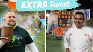 Buddy & Duff Make Mini Golf Themed Cakes | #BuddyVsDuff