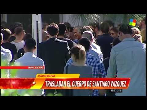El último adiós a Santiago Vázquez