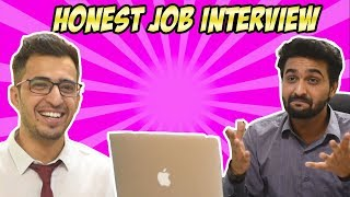 HONEST JOB INTERVIEW