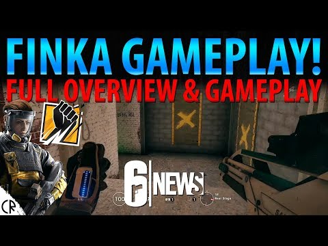 Finka Gameplay & Overview! - Operation Chimera Outbreak - 6News - Tom Clancy's Rainbow Six