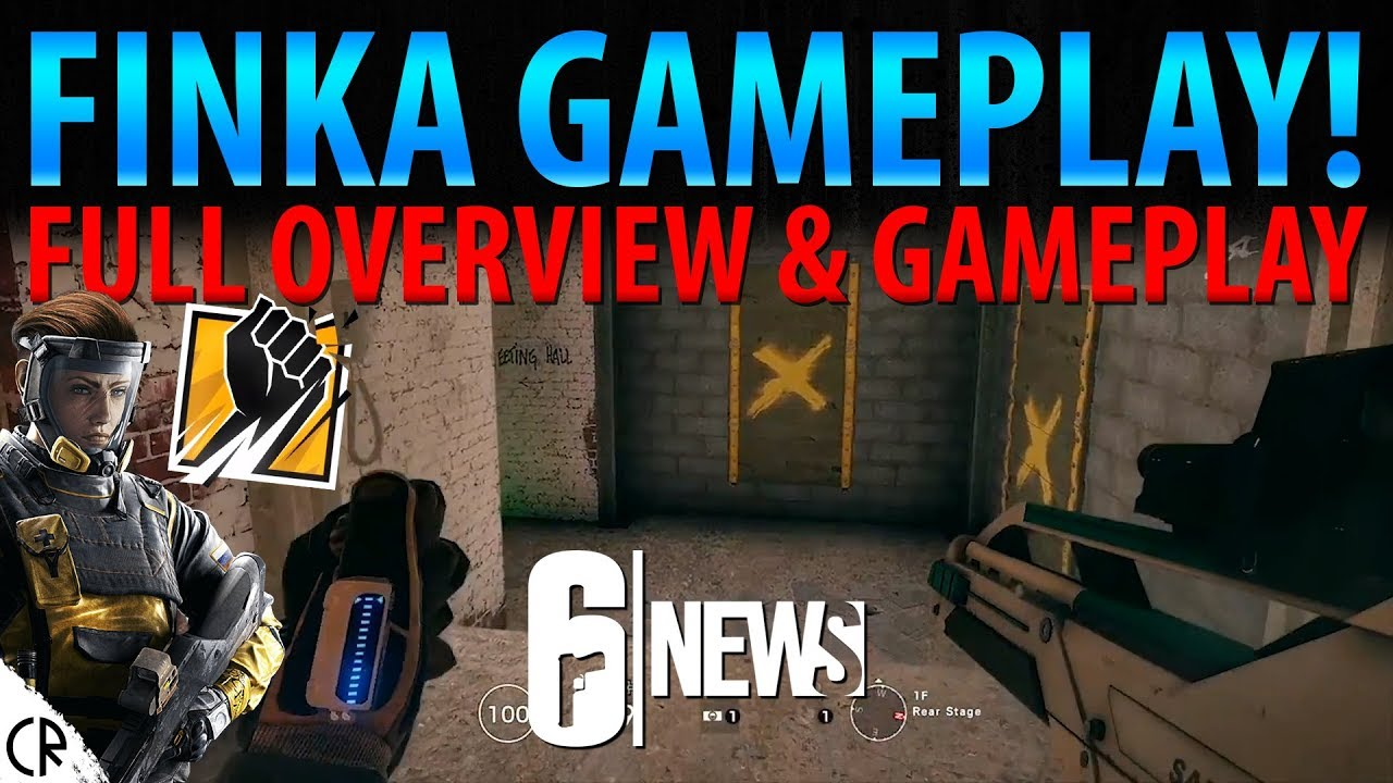 Rainbow Six Siege: Finka guide - Tips, tricks, loadout and