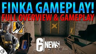 Finka Gameplay & Overview! - Operation Chimera Outbreak - 6News - Tom Clancy